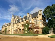 The Meadow Building at Christ Church College Royalty Free Stock Photos