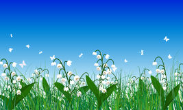 Meadow color background Royalty Free Stock Photos