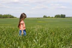 meadow dziewczyny obraz royalty free