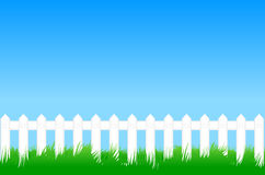 Meadow fence stock images