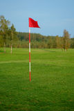 Meadow golf field Royalty Free Stock Photography