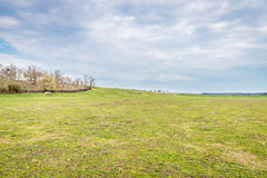 Meadow And Hill Landscape. Beautiful Meadow and Hill Landscape Royalty Free Stock Photos