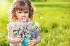 Meadow kid Royalty Free Stock Photos