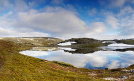 Meadow Lake Landscape Scenery Royalty Free Stock Image