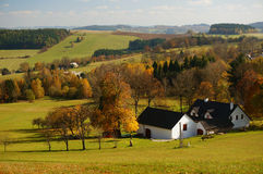 Free Meadow Of Czech Coutry Royalty Free Stock Image - 47864976