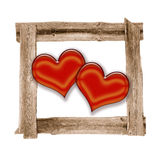 Meadow Old  frames  heart love Stock Photos