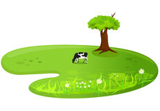 Meadow. Vector stylized illustration of a Meadow Royalty Free Stock Image