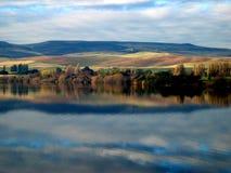 meadowbank pomalowane jezioro Zdjęcia Stock