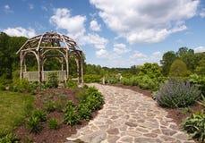 Meadowlark Botanical Garden Virginia royaltyfri fotografi