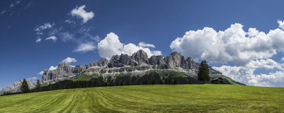 The meadows of Colbleggio, Karersee - Dolomites Stock Photos