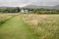 Meadows at Derrynane House Stock Photo