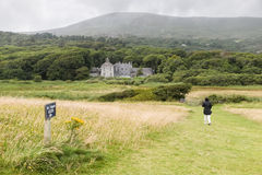 Meadows at Derrynane House Royalty Free Stock Photos