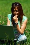 meadows dziewczyn. Zdjęcie Royalty Free