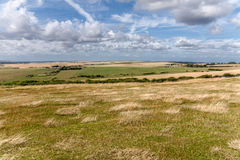 Meadows in Eastbourn near Beachy Head Royalty Free Stock Photo