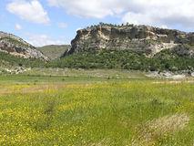 Meadows landscape in Lleida Stock Images