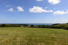 Meadows on Lizard peninsula, Cornwall Royalty Free Stock Photography