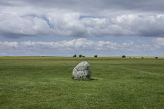 Meadows - Salisbury Plain/the Rock. Stock Images
