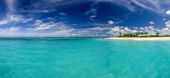 Meads Bay in Anguilla Beach, Caribbean Stock Image