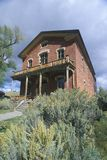 Meads Hotel, Bannack MT, Ghost Town Stock Photos