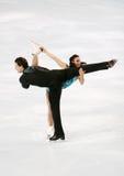 Meagan DUHAMEL / Craig BUNTIN short program Royalty Free Stock Images