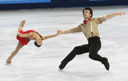 Meagan DUHAMEL / Eric RADFORD (CAN) Stock Photos