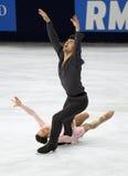 Meagan DUHAMEL/Eric RADFORD (KÖNNEN Sie) Stockbild