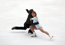Meagan Duhamel und Craig Buntin (KÖNNEN Sie) Stockfotos