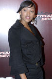 Meagan Good on the red carpet. Meagan Good on the red carpet in November 2006 in Hollywood Royalty Free Stock Images