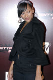 Meagan Good on the red carpet. Meagan Good on the red carpet in November 2006 in Hollywood Royalty Free Stock Photo