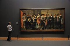 Meagre Company 1637 durch Frans Hals beim berühmten Rijksmuseu Lizenzfreie Stockfotografie