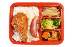 Meal Box Royalty Free Stock Photography