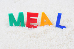 Meal concept Royalty Free Stock Photo