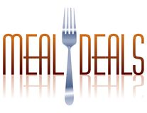 Meal Deals Stock Photography
