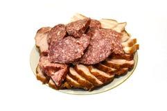 Meal on a dish Stock Photos
