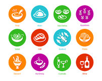 Meal icons Stock Images