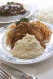 Meal in Miyazaki Japan stock photo