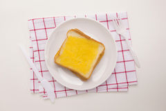 Meal Of Sweet Toast Stock Image