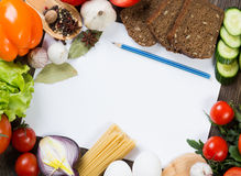 Meal preparing Stock Images