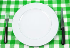 Meal setting Stock Images