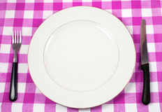 Meal setting royalty free stock photo