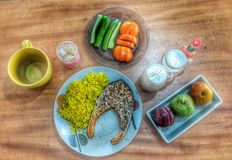 Meal. A tasty meal Royalty Free Stock Image