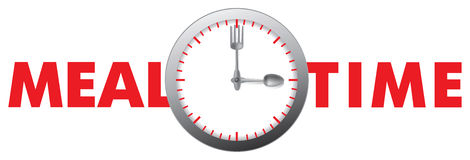Meal time Royalty Free Stock Images