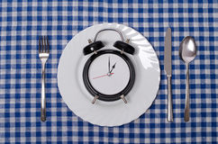Meal time concept Royalty Free Stock Photography