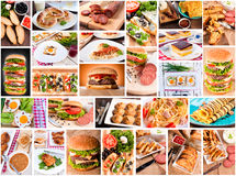 Meal time Stock Image