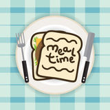 Meal Time Royalty Free Stock Photos