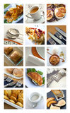 Meals and dishes Royalty Free Stock Images