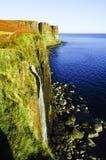 Mealt-Fälle und Kilt-Felsen, Insel von Skye in Schottland Stockfotografie