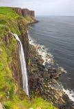 Mealt vattenfall Fotografering för Bildbyråer