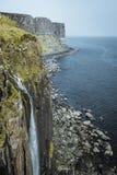 Mealtfalls à l'île de Skye en Ecosse images libres de droits