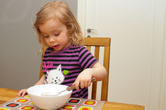 Mealtime Foto de archivo libre de regalías